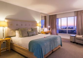 Deluxe Hotel Room Accommodation in Durban at The Riverside Hotel Durban North