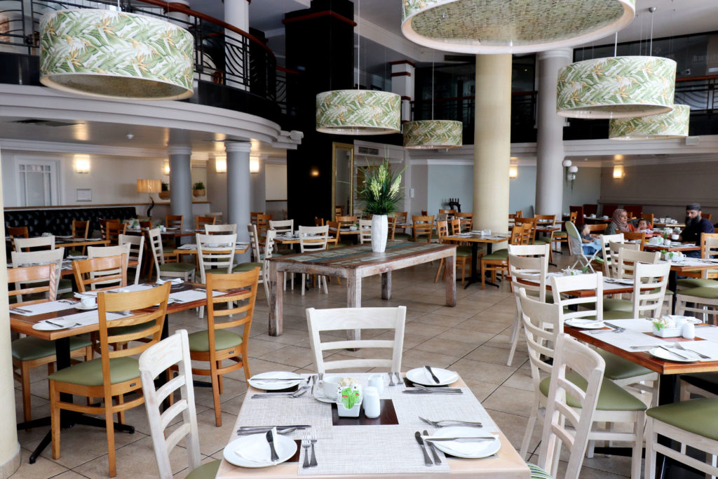 The Riverside Grill at The Riverside Hotel in Durban