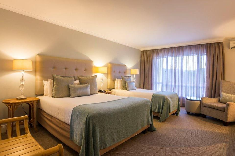Triple Room Accommodation at The Riverside Hotel Durban