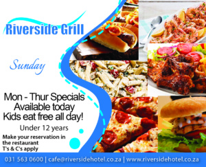 Riverside Grill Sunday Food Special