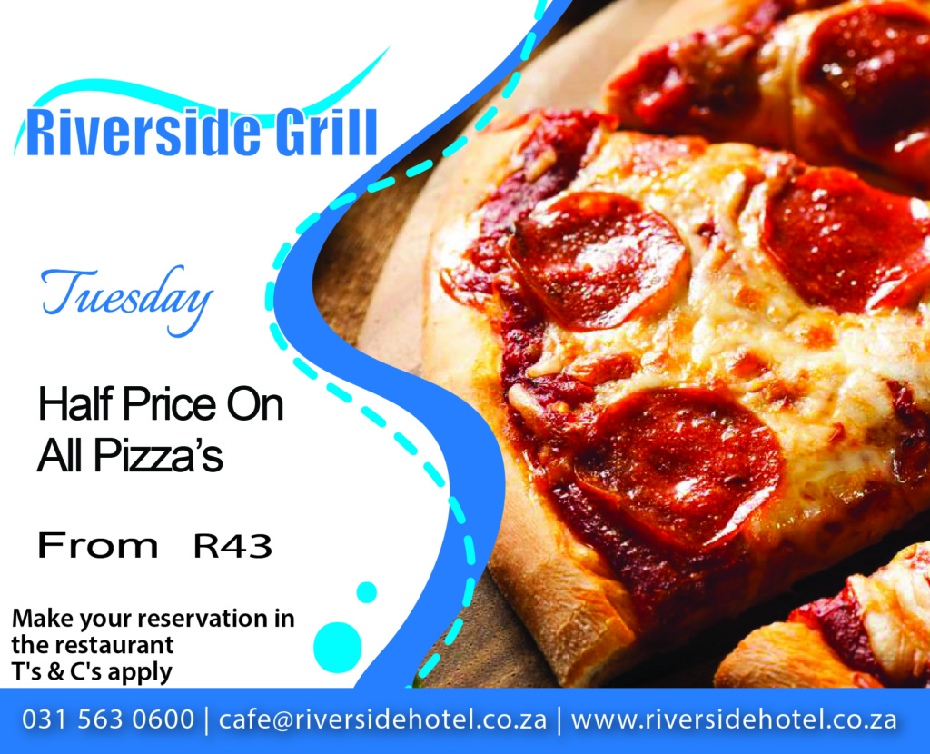 Riverside Grill Pizza Special
