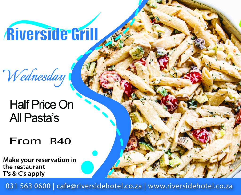 Riverside Grill Pasta Special
