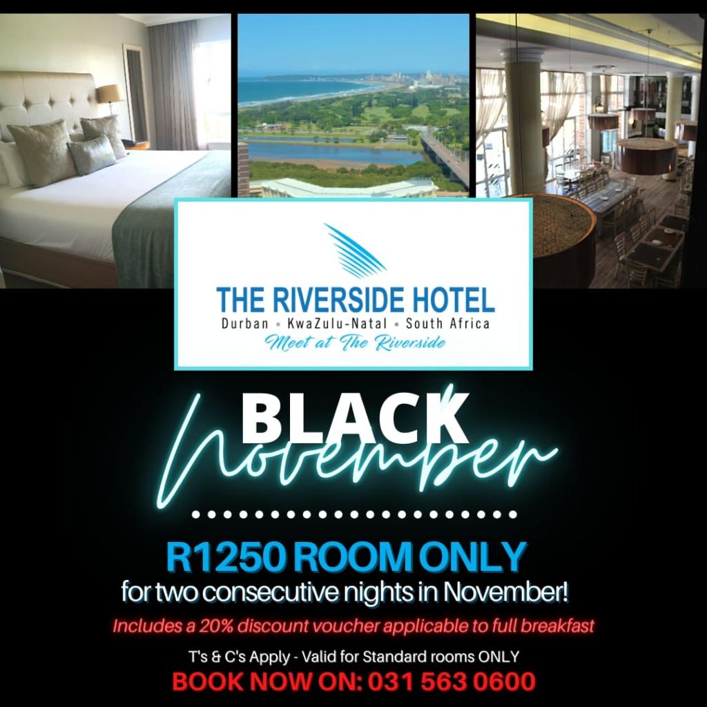 black november black friday hotel accommodation 2020
