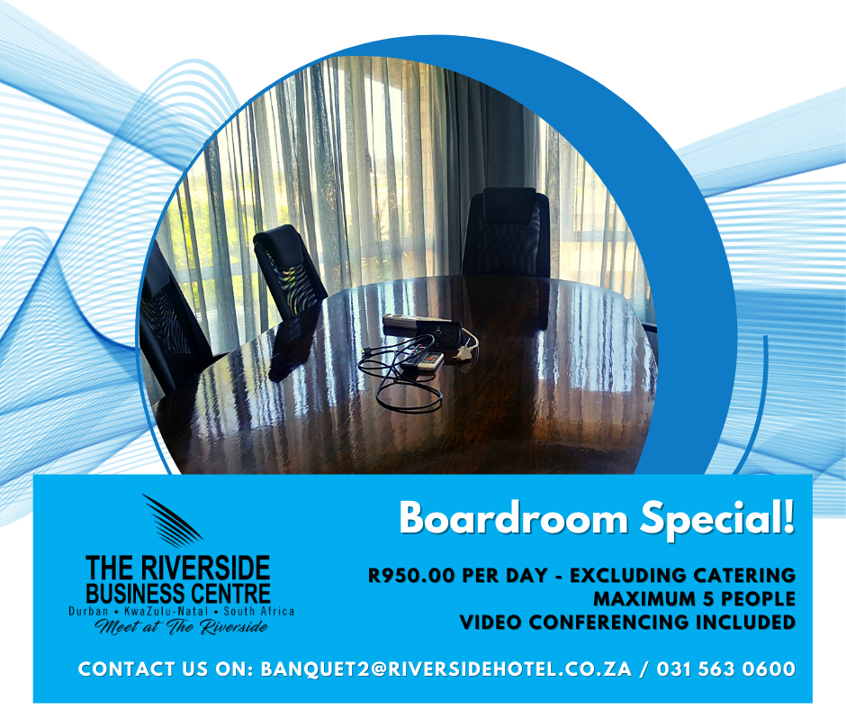 Riverside Business Centre Boardroom Special