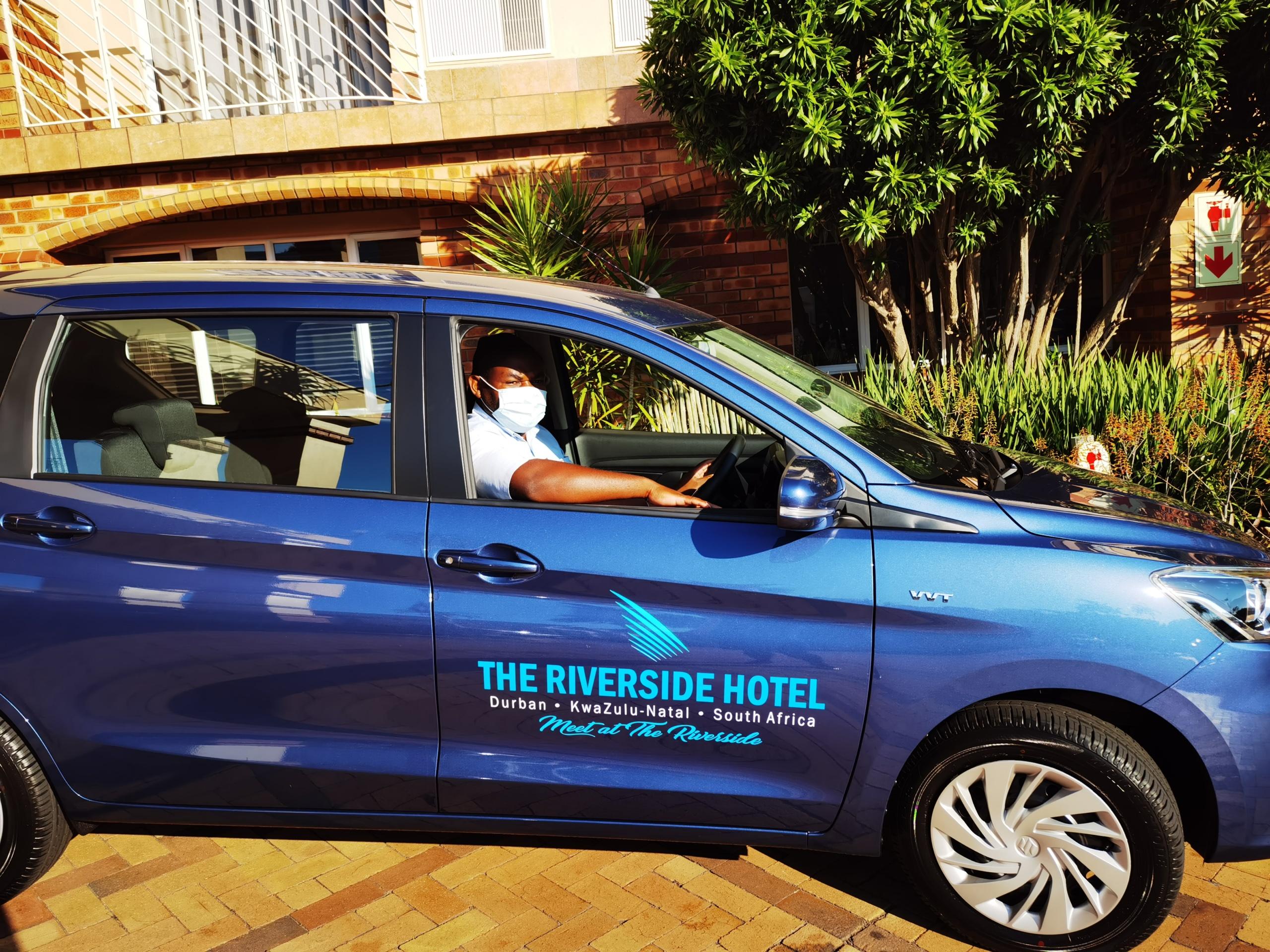 Shuttle Service at Riverside Hotel Durban